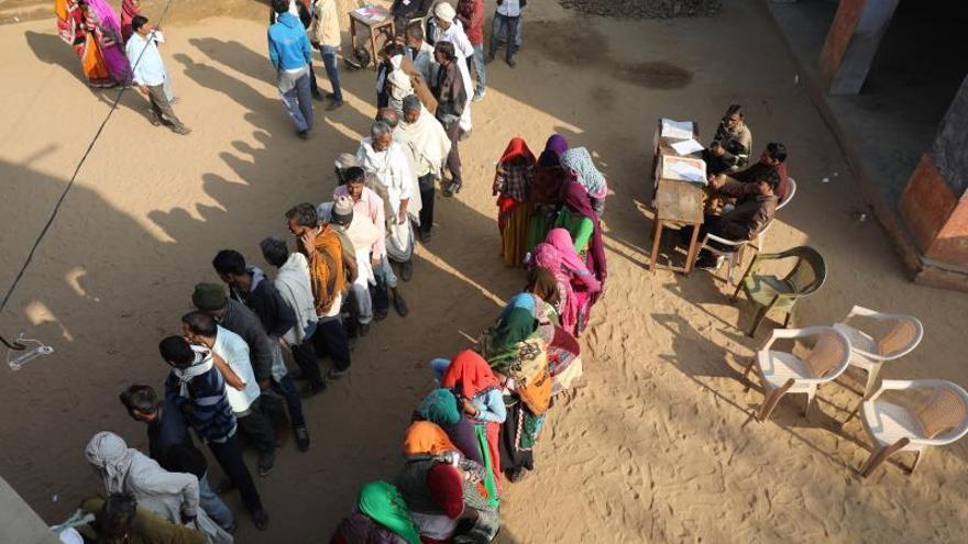 India concluye sus elecciones regionales, la batalla electoral clave del año