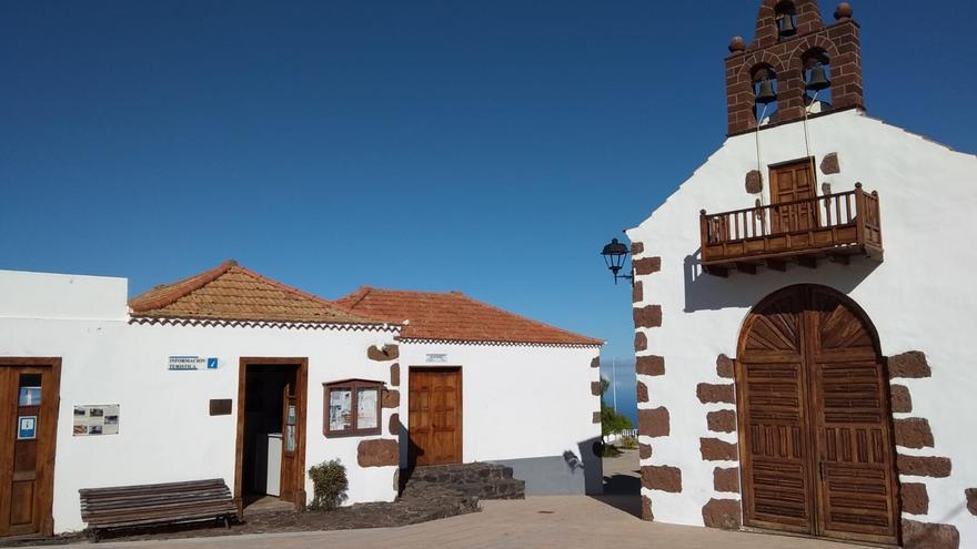 Centro de información turística de Las Tricias.