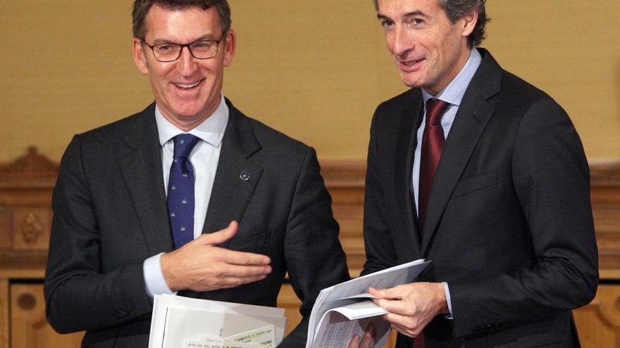 Feijóo y el ministro de Fomento, Íñigo de la Serna, en una imagen de archivo