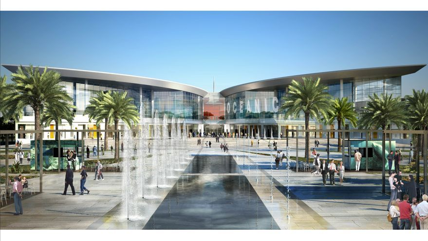 Imagen virtual del centro comercial Oceanic.
