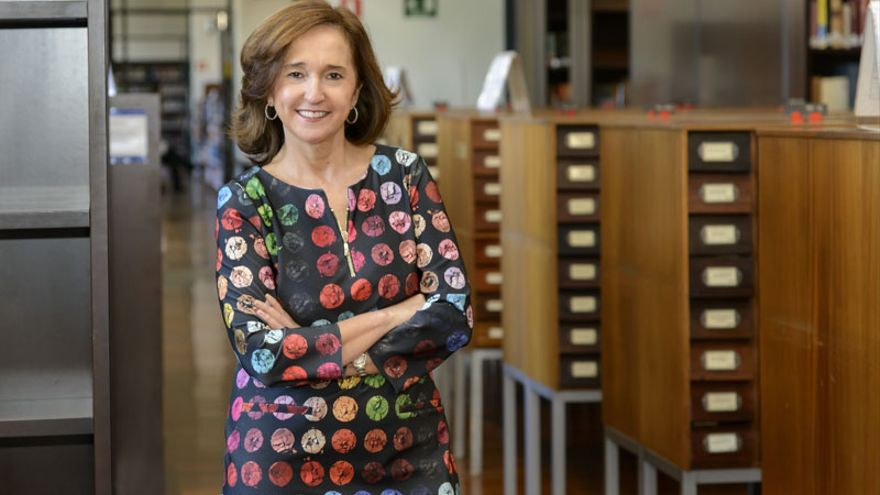 Ana Santos Aramburo, directora general de la Biblioteca Nacional
