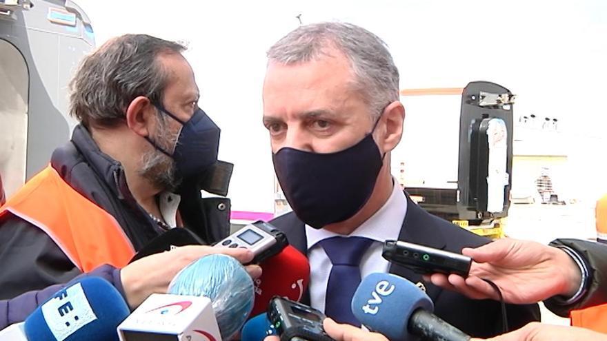 El lehendakari, Iñigo Urkullu