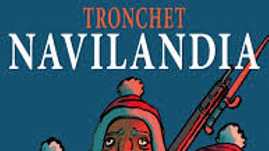 Portada de Navilandia de Tronchet