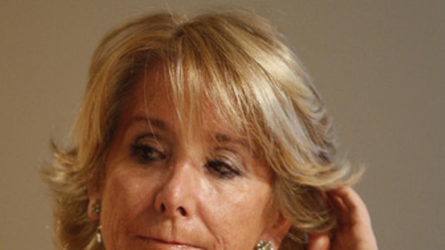 Presidenta de Madrid, Esperanza Aguirre