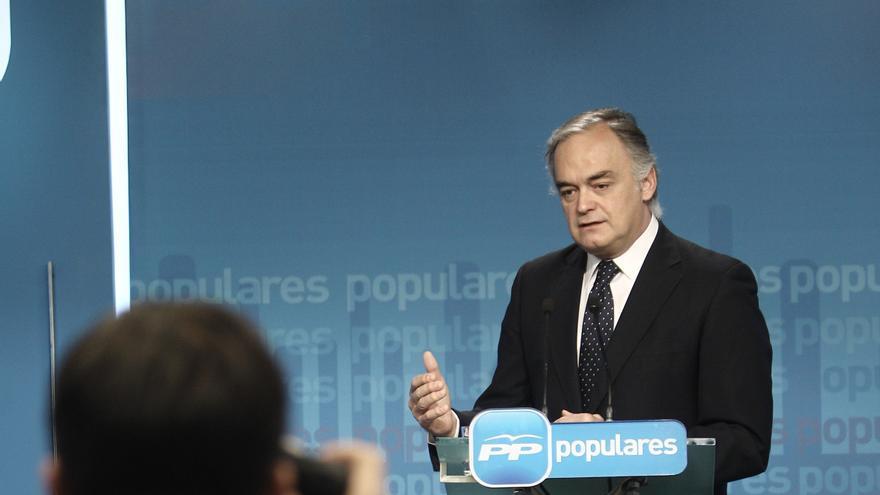 """González Pons insiste en que en el PP """"no hay sobresueldos"""" y que el partido completa el salario de los cargos públicos"""