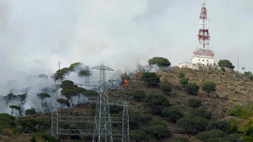 El fuego quema en España un 20 % menos de superficie que hace un año