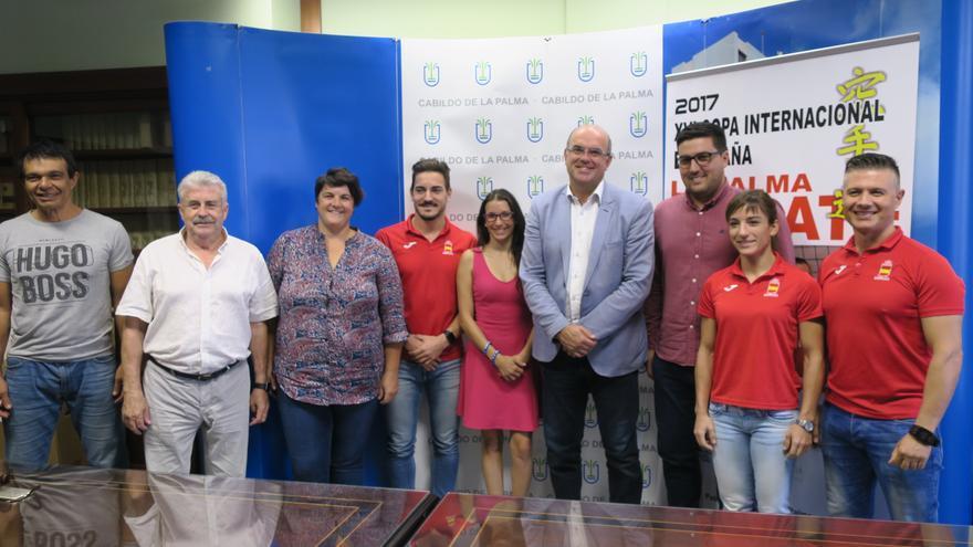 Presentación del campeonato celebrada este jueves en el Cabildo.