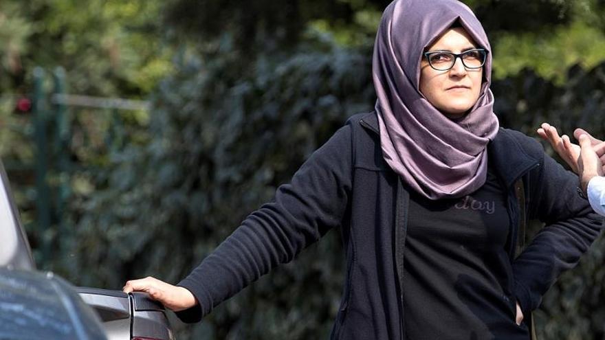 Hatice Cengiz era la prometida de Jamal Khashoggi cuando fue asesinado.
