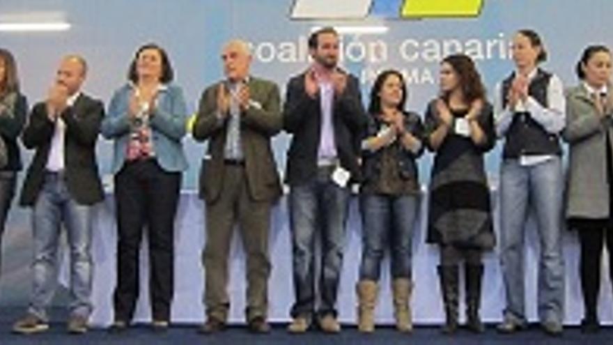 Consejo decisivo de CC sobre el pacto con el PSOE