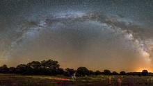 Viaje fotográfico a un triplete celestial único en 150 años