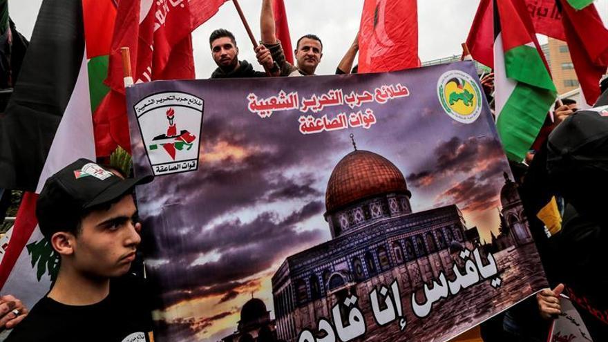 Líbano condena el veto de EEUU a la resolución de la ONU sobre Jerusalén