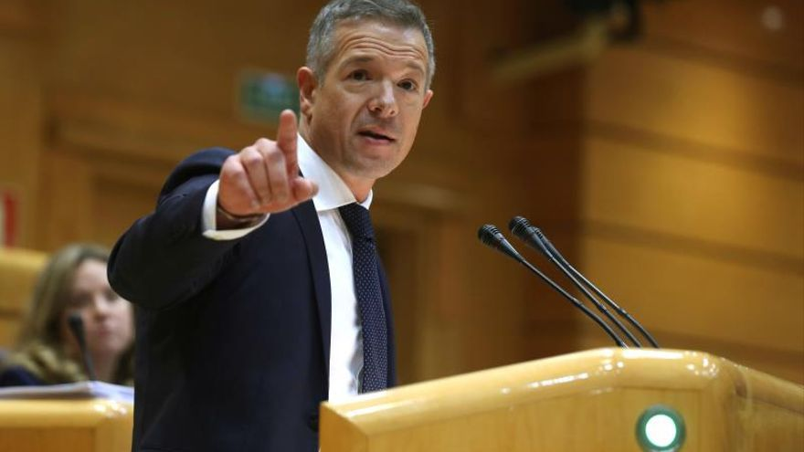 El portavoz del PSOE en el Senado, Ander Gil.