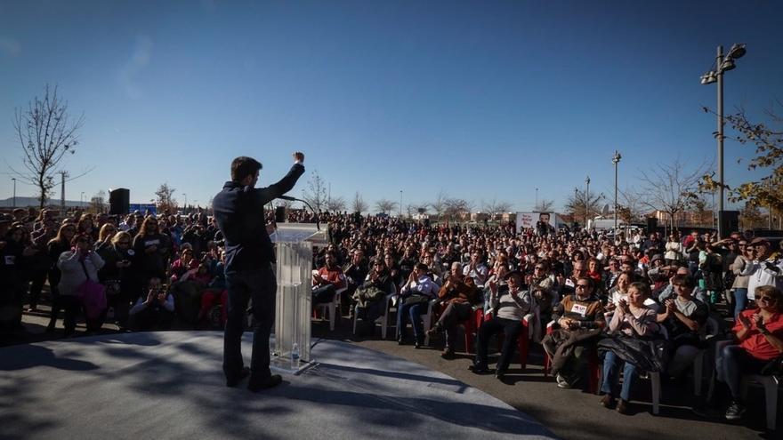 Alberto Garzón alerta del peligro de un Congreso sin una izquierda fuerte que plante cara a la oligarquía