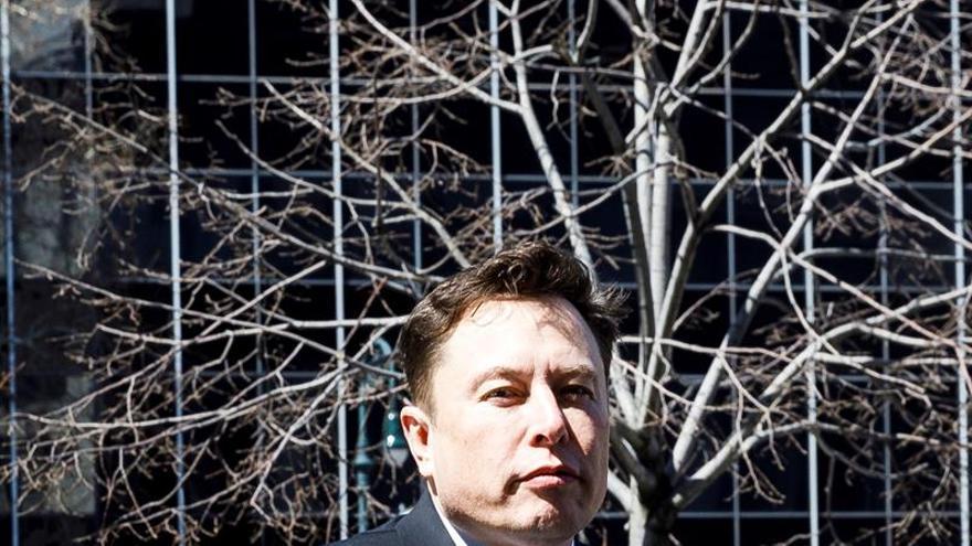 En la imagen un registro del fundador de Tesla, Elon Musk.