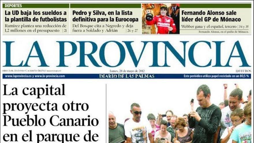 De las portadas del día (28/05/2012) #1
