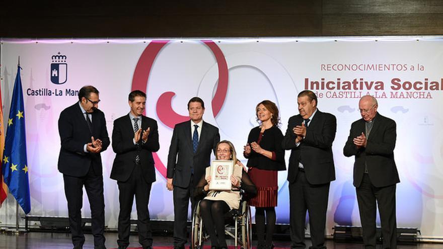 Acto de entrega de los Reconocimientos a la Iniciativa Social / JCCM