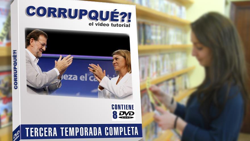 Imagen promocional de la tercera temporada en DVD del video-tutorial del Partido Popular