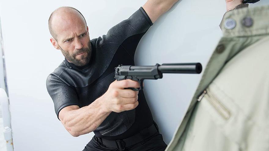 Jason Statham en 'Mechanic: Resurrection'