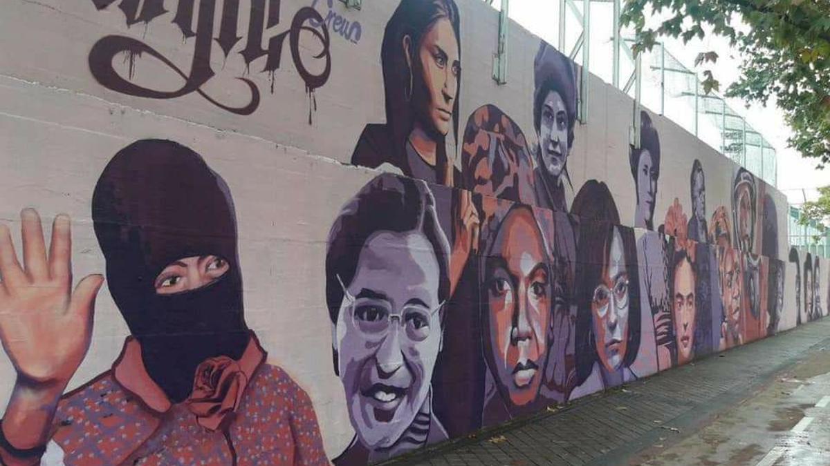 Mural que querían borrar