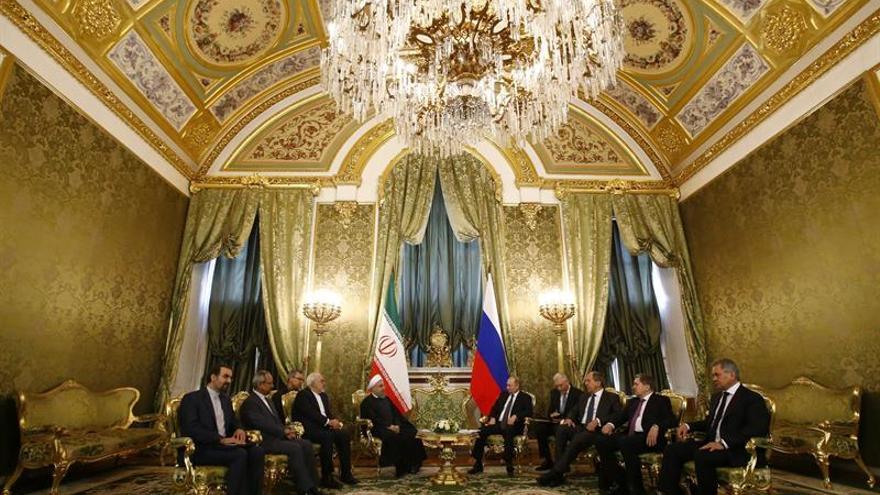 Putin y Rohaní alertan sobre el aumento del terrorismo yihadista en el mundo