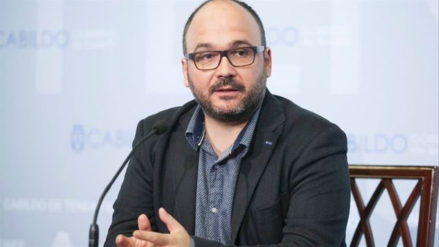 José Antonio Valbuena, consejero insular de Medio Ambiente en el Cabildo de Tenerife