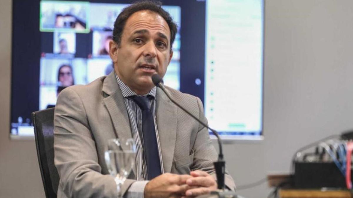 Fiscal general de Córdoba Juan Manuel Delgado. Suspendió la aplicación del IVE en la provincia.