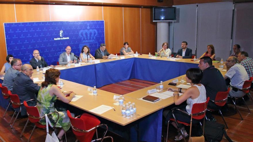 Reunión del Consejo Regional del Pueblo Gitano