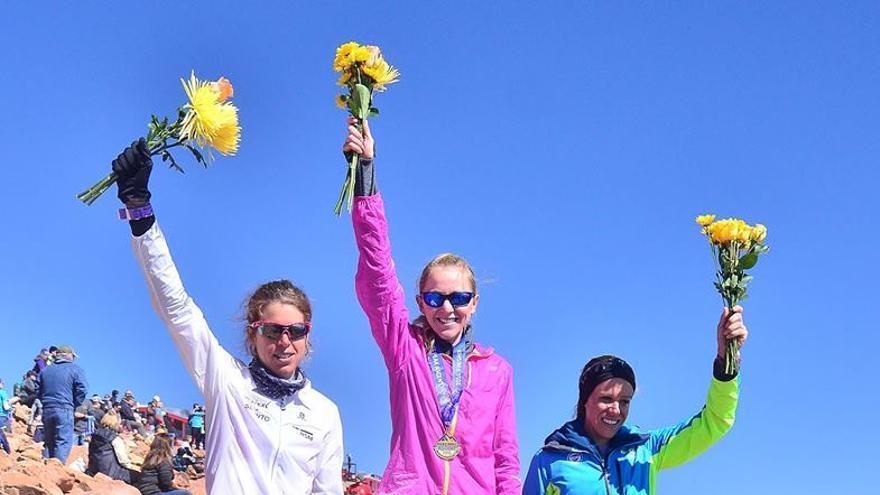 Laura Orgué, podio en la Pikes Peak.