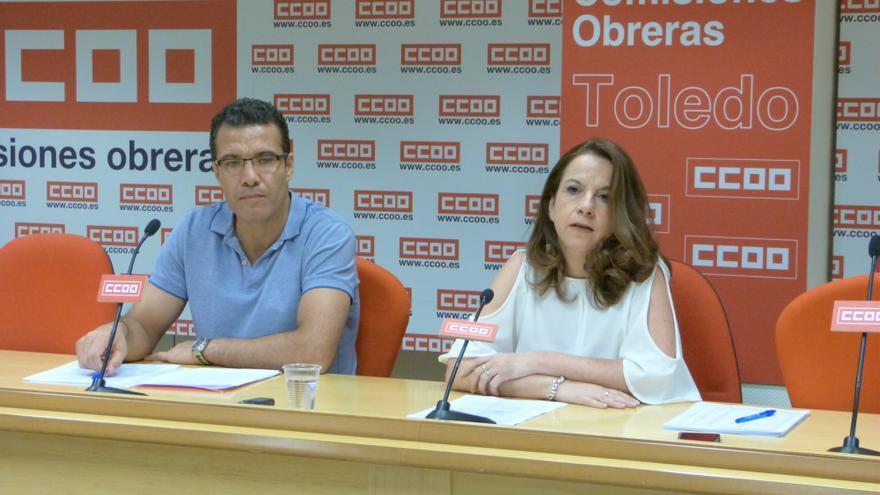 rueda de prensa siniestralidad laboral CCOO