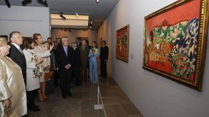 Muestra de Mattisse en la Alhambra