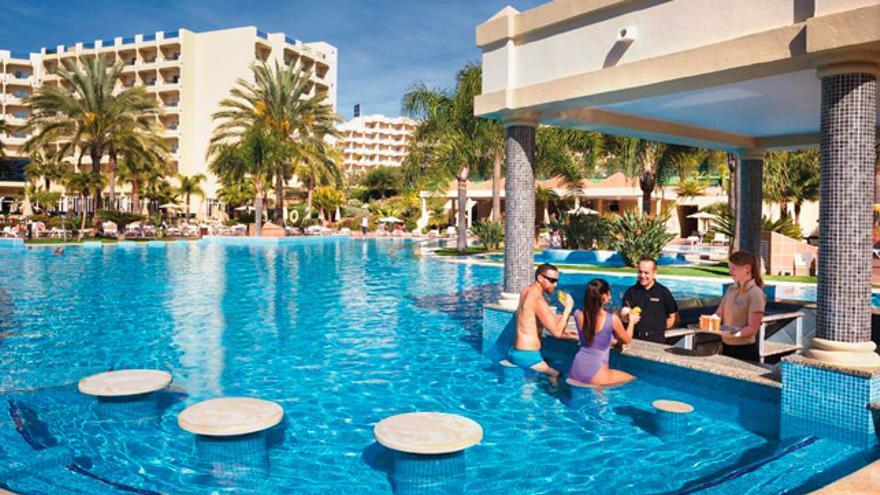Hotel Riu Guarana, en el Algarve portugués.