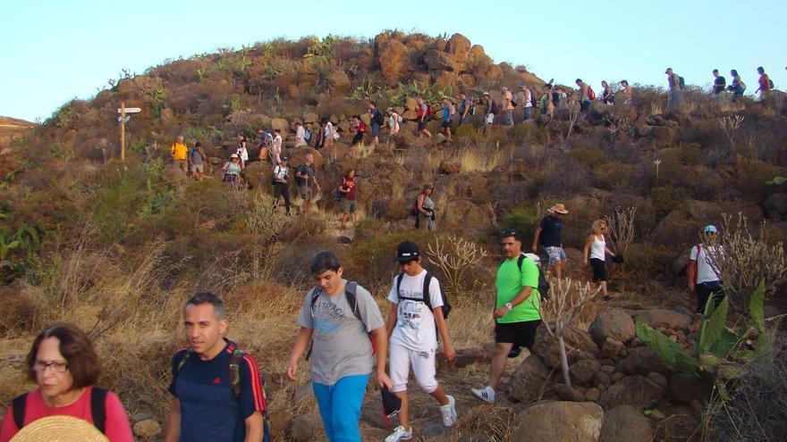 El tránsito por los senderos hacia Candelaria está prohibido, recuerda el Cabildo a los peregrinos con motivo de la festividad