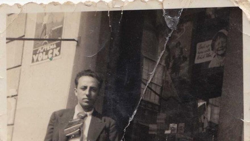 Imagen de archivo del poeta y concejal republicano Domingo López Torres