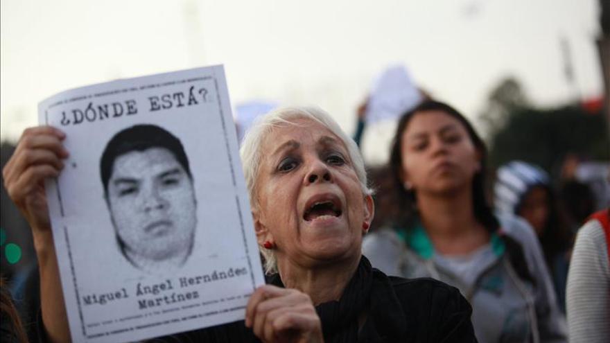 Familiares de desaparecidos en México se asesoran en investigación forense