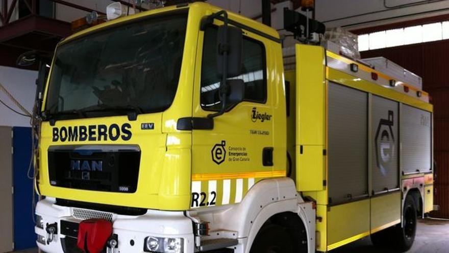 Camión de bomberos del Consorcio de Emergencias de Gran Canaria.