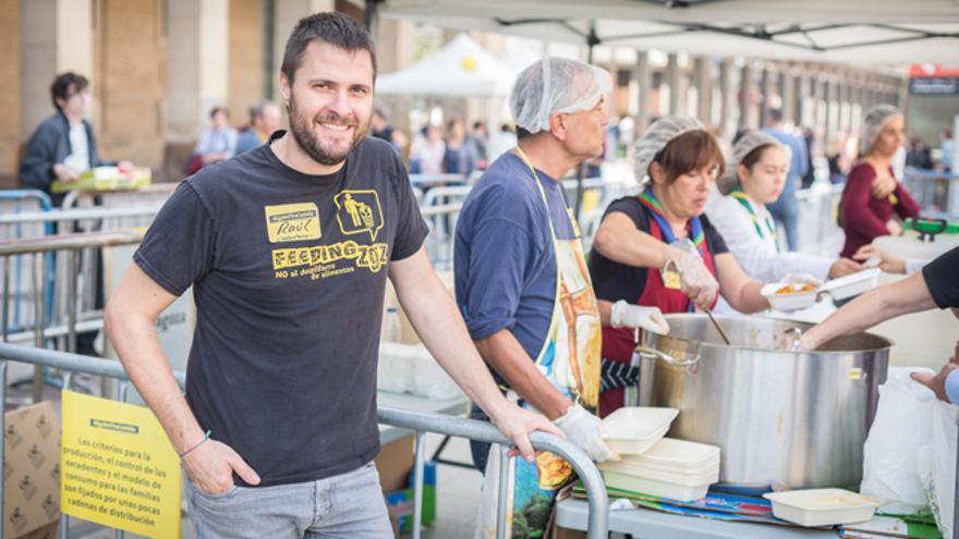 Raul Blas, vicepresidente de Feeding Zaragoza
