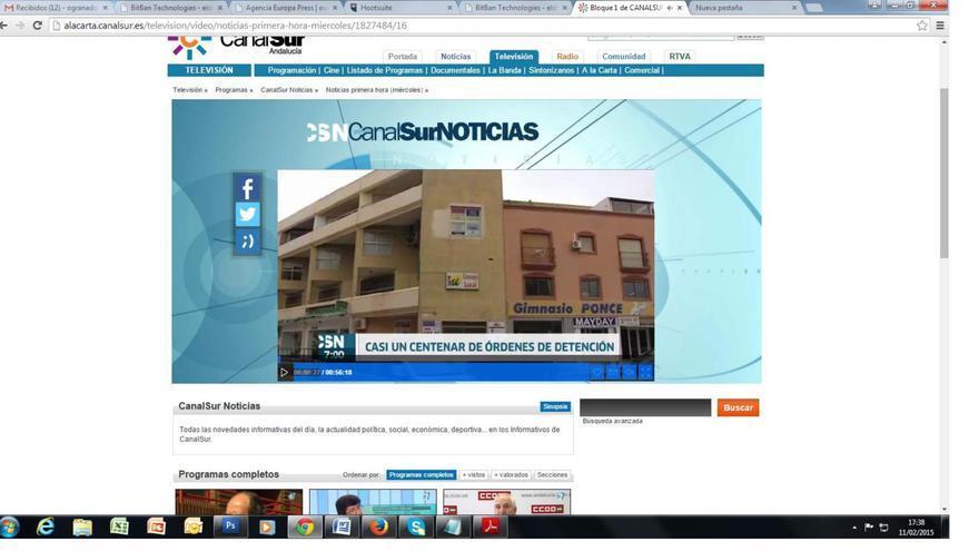 Operación Edu en Canal Sur