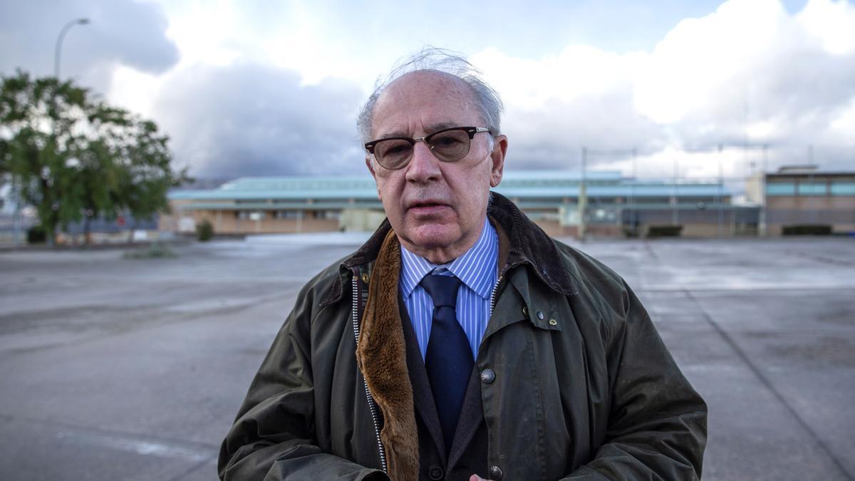El ex director gerente del Fondo Monetario Internacional Rodrigo Rato. EFE/Rodrigo Jiménez/Archivo