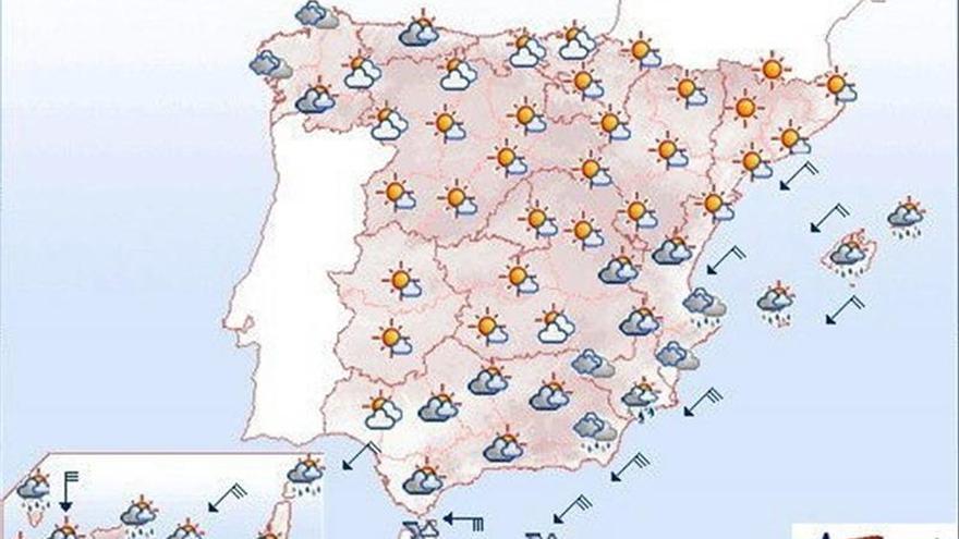 Mañana se mantiene viento fuerte en Canarias, litoral de Galicia y Cantábrico