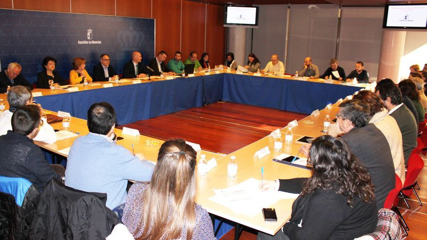 Reunión de la Mesa Sectorial de Bienestar Social de Castilla-La Mancha