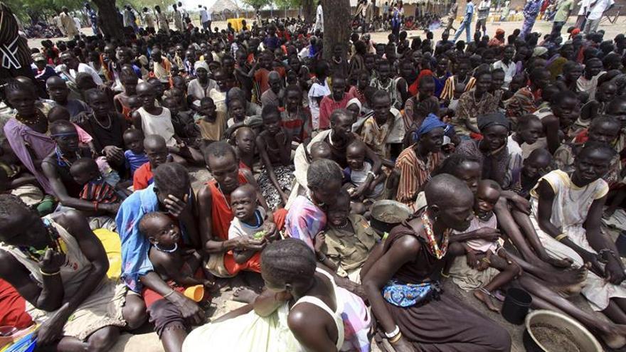 Casi 137.000 sursudaneses huyeron a Sudán por violencia y hambre desde enero