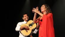 Estrella Morente y El Niño Josele durante una actuación. Foto: JOSE AYUT.