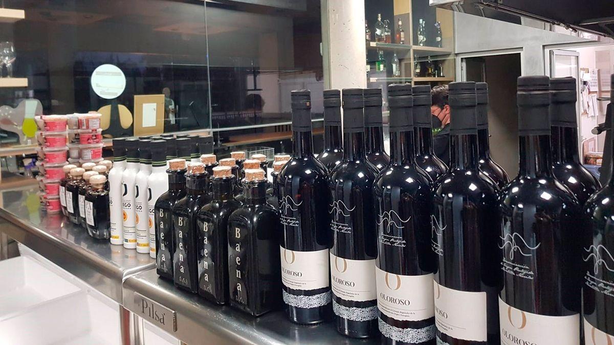 Productos gastronómicos para la 'Kitchen On Live Córdoba'.
