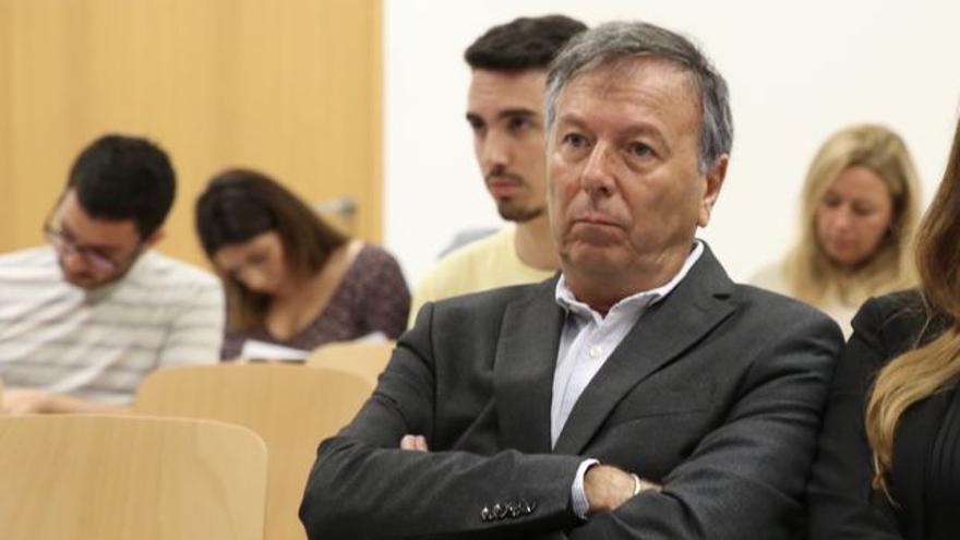 Juan Manuel Benítez del Rosario, en el juicio celebrado en julio. (ALEJANDRO RAMOS).