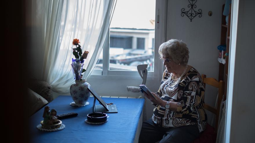 El 20 % de los habitantes de Zaragoza tiene más de 65 años