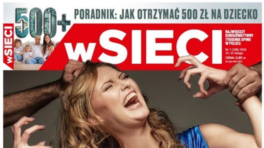 Portada de la revista polaca wSieci.