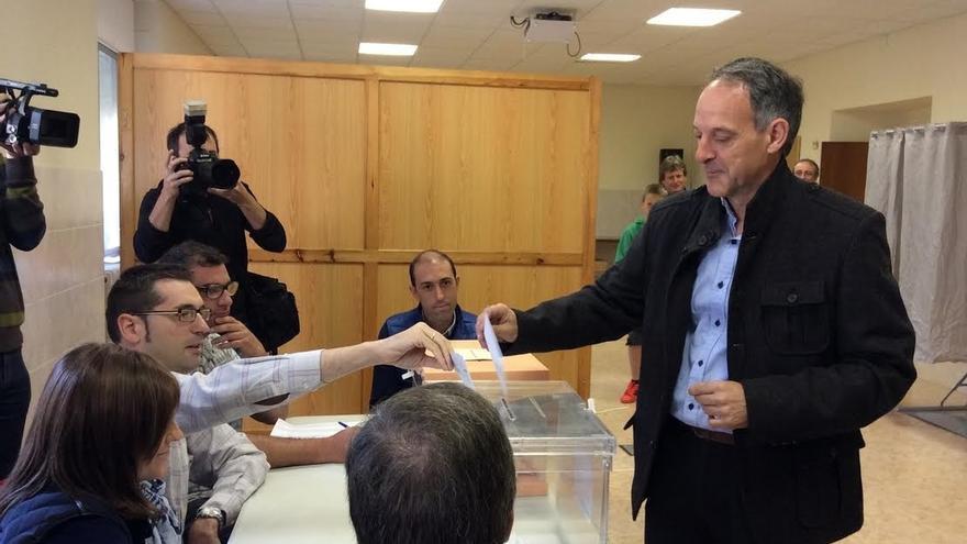 """Araiz dice que """"hoy es un día importante para Navarra"""" porque """"vamos a empezar un nuevo ciclo político"""""""