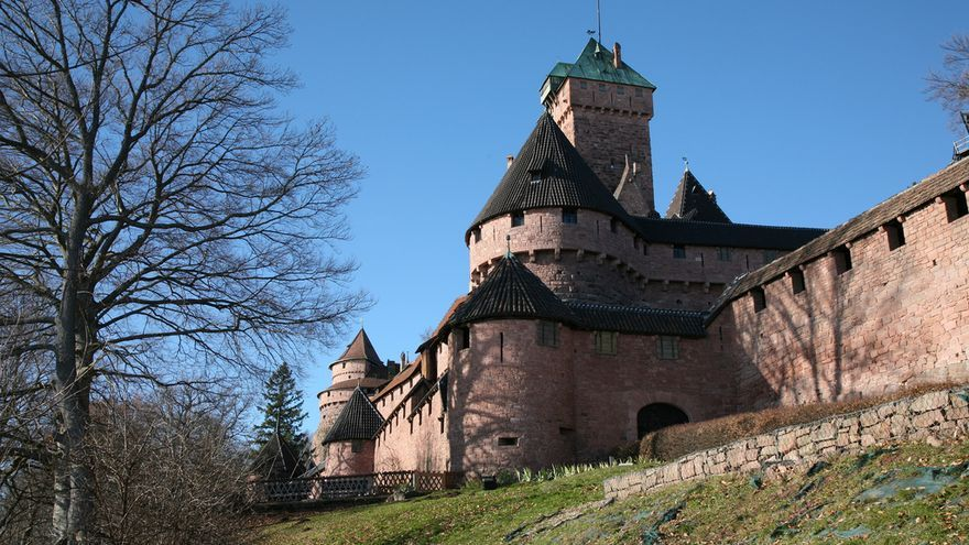 Castillo de haut-koenigsbourg. Vincent Desjardins (CC)
