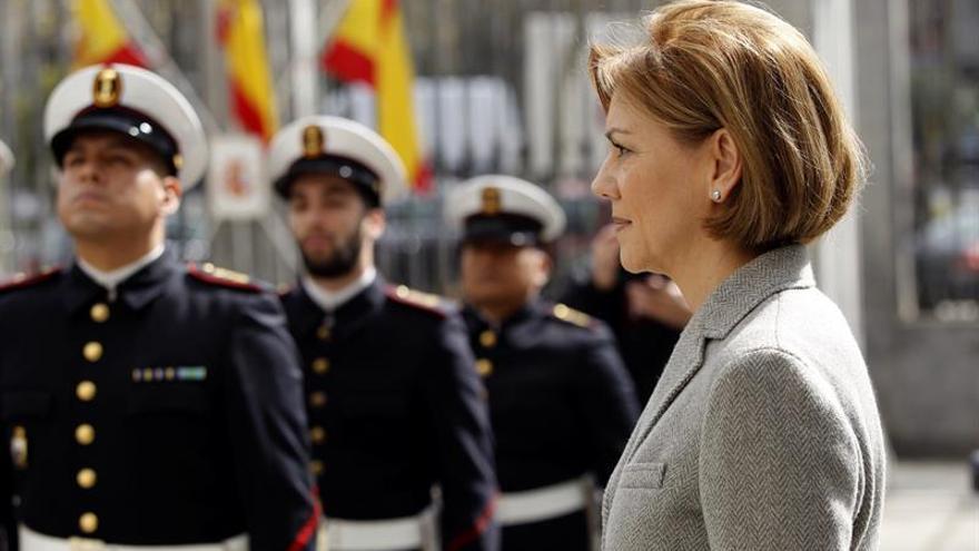 Cospedal preside hoy los actos toma posesión jefes de Ejércitos y Armada