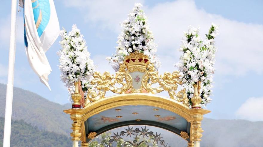 Imagen de la Virgen de la Concepción (Breña Alta).